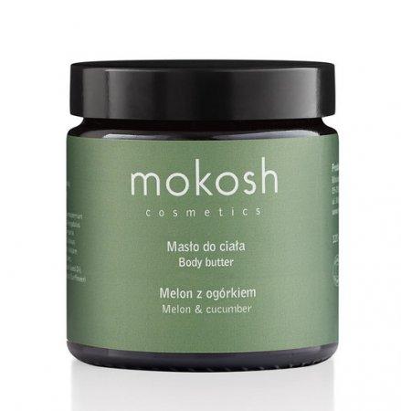 Mokosh, masło do ciała, melon z ogórkiem, 120ml