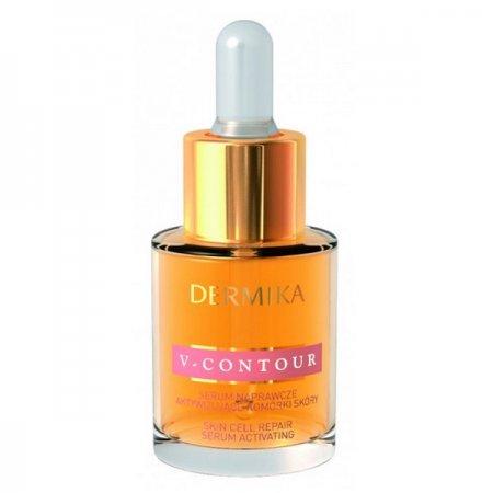 Dermika V-Contour, serum do twarzy z wypełniaczem zmarszczek, 15ml