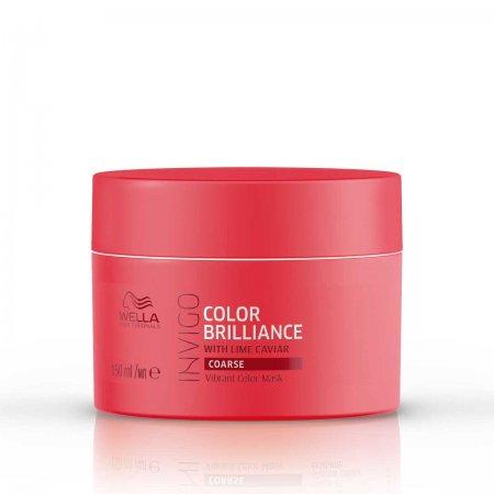Wella Invigo Color Brilliance, maska do włosów farbowanych, grubych, 150ml