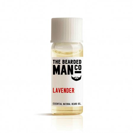 Bearded Man Lavender, olejek do brody Lawenda, 2ml