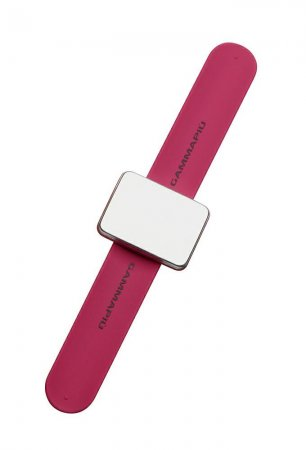 Gamma Piu, magnetyczna bransoletka na wsuwki Magic Bangle, różowa