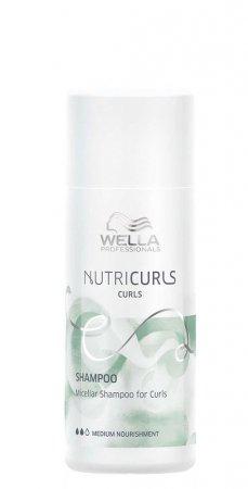 Wella Nutricurls, szampon do loków, micelarny, 50ml