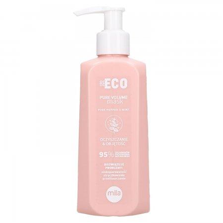 Mila Professional Be Eco Volume, maska oczyszczająca i nadająca objętość, 250ml