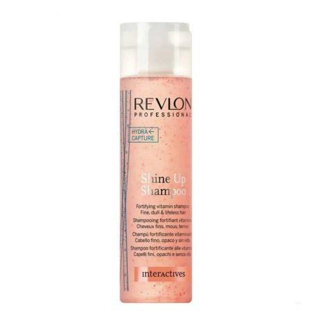 Revlon Interactives Shine Up, szampon dodajacy blasku i objętości, 250ml