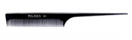 Grzebień fryzjerski Pegasus 101 z twardego kauczuku