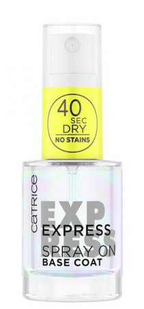 Catrice Express Spray On Base Coat, baza do paznokci w sprayu, 10ml