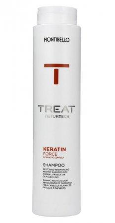 Montibello, szampon do włosów łamliwych Keratin Force, 300ml