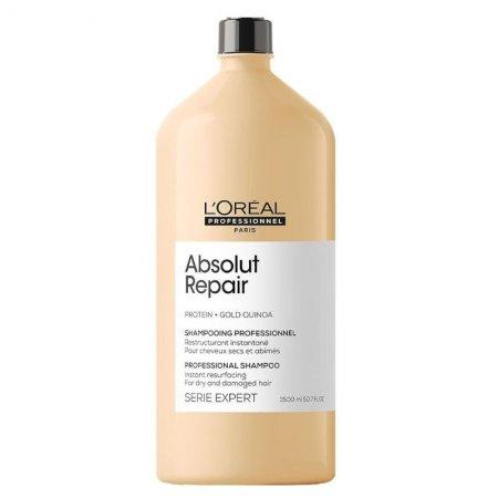 Loreal Absolut Repair, szampon regenerujący włosy uwrażliwione, 1500ml