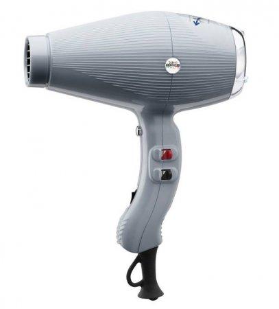 Gamma Piu Aria Dual Ionic, suszarka do włosów, szara, 2200W