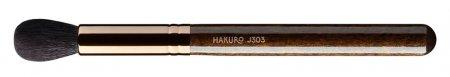 Hakuro J303, pędzel do rozświetlacza w kamieniu, ciemnobrązowy