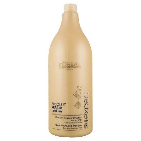 Loreal Absolut Repair Lipidium, szampon regenerujący włosy uwrażliwione, 1500ml