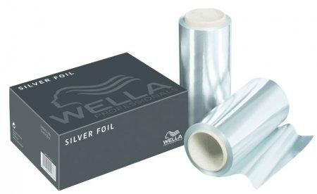 Wella, folia aluminiowa srebna, szerokość 12cm, 2x50m