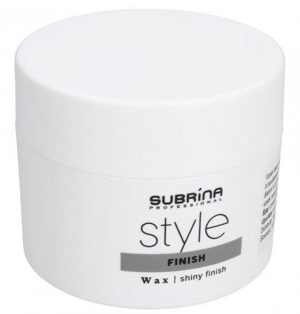 Subrina Finish Style, nabłyszczający wosk do włosów, 100ml