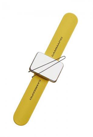 Gamma Piu, magnetyczna bransoletka na wsuwki Magic Bangle, żółta