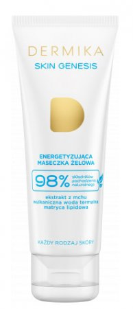 Dermika Skin Genesis, maseczka energetyzująca, żelowa, 50ml