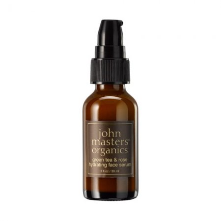 John Masters Organics, serum do twarzy z zieloną herbatą i różą, 30ml