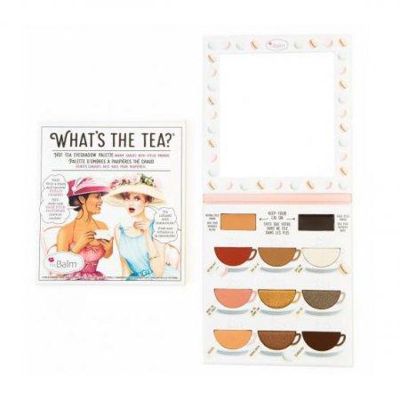 The Balm What's The Tea?, paleta cieni do powiek, Hot Tea