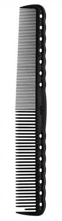 Y.S. Park, grzebień do strzyżenia męskich włosów, model 334, czarny