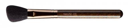 Hakuro J121, pędzel do różu i bronzera, ciemnobrązowy