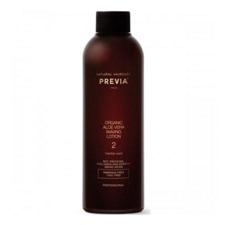 Previa Waving 2, lotion do trwałej ondulacji, do włosów farbowanych, 200ml