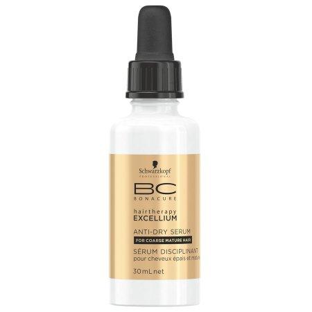 Schwarzkopf BC Excellium Q10, serum do włosów puszących się, 30ml