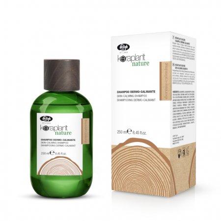 Lisap Keraplant Nature, Kuracja łagodząca naskórek, szampon, 100ml