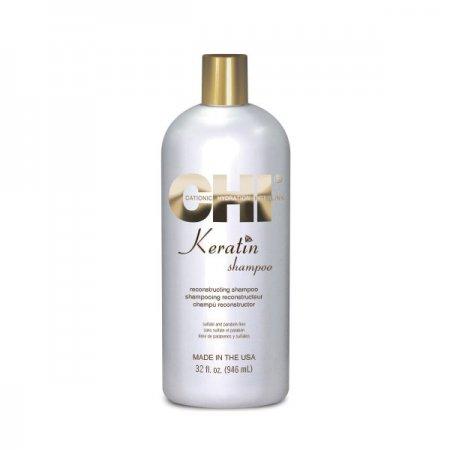 CHI Keratin, szampon rekonstruujący z keratyną, duża pojemność, 946ml