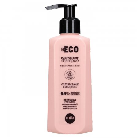 Mila Professional Be Eco Volume, szampon oczyszczający i nadający objętość, 250ml