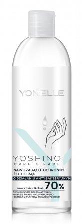 Yonelle Yoshino Pure&Care, nawilżająco-ochronny żel do rąk o działaniu antybakteryjnym, 70% alk., 100ml