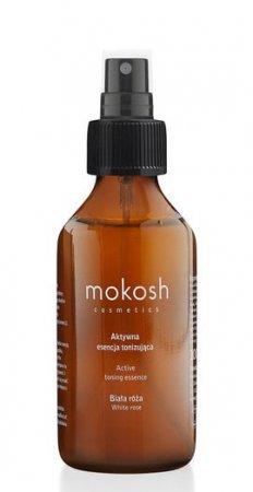 Mokosh, aktywna esencja tonizująca, biała róża, 100ml