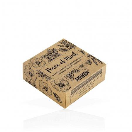 Anwen Peace of Mint, szampon w kostce w puszce, 75g