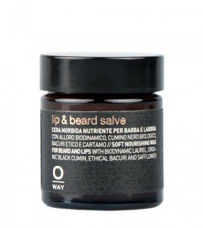 OWay Man, miękki wosk odżywczy do brody i ust, 30ml