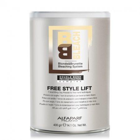 Alfaparf BB, puder rozjaśniający do 7 tonów, Free Style Lift, 400g