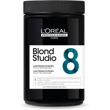 Loreal Blond Studio Multi-Techniques-8, rozjaśniacz w pudrze, 500g