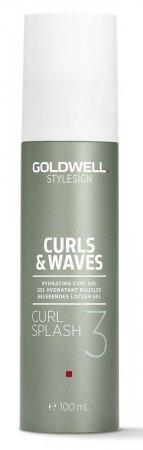 Goldwell Curls & Waves, nawilżający żel do loków, 100ml