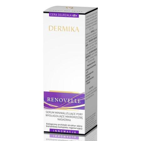 Dermika Renovelle, serum minimalizujące pory i wygładzające, cera dojrzała 45+, 30ml