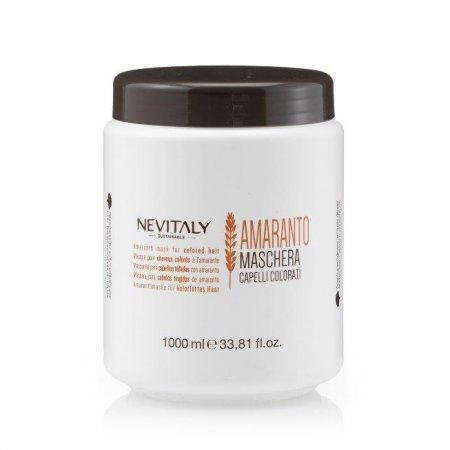 Nevitaly Amaranto, maska do włosów farbowanych, 1000ml