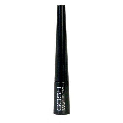Gosh Eye Liner Pen, tusz do kresek, eyeliner, 2,5ml