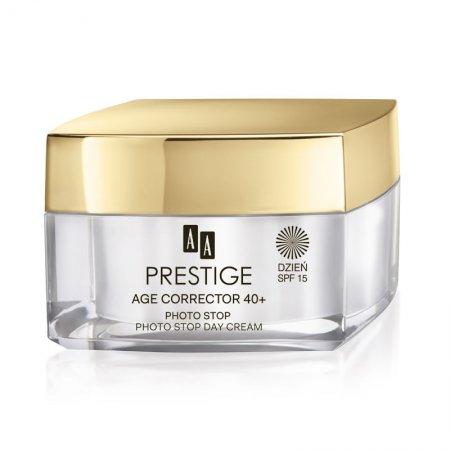 AA Prestige Age Corrector, krem na dzień SPF 15, Photo Stop, 50ml