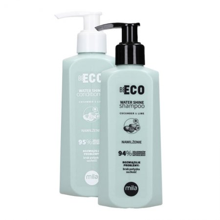 Mila Professional Be Eco Shine, zestaw nawilżający, 250ml + 250ml