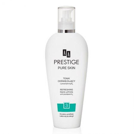 AA Prestige, odświeżający tonik do twarzy, 200ml