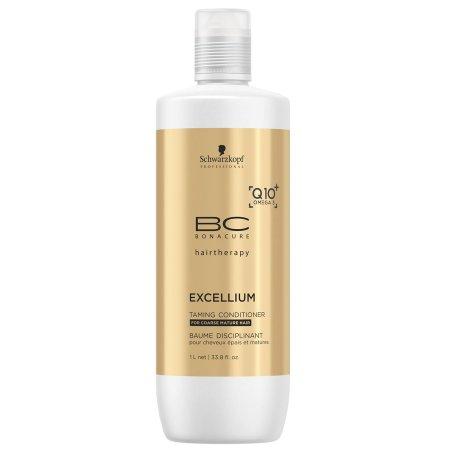 Schwarzkopf BC Excellium Q10, odżywka do włosów puszących się, 1000ml