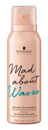Schwarzkopf Mad About Waves, suchy szampon do włosów falowanych, 150ml