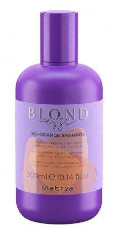 Inebrya Blondesse No Orange, szampon ochładzający odcień, 300ml