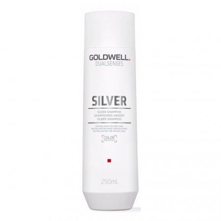 Goldwell Dualsenses Silver, srebrzysty szampon neutralizujący, 250ml