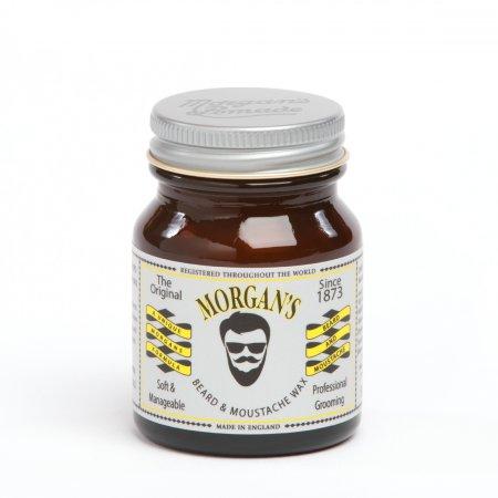 Morgan's, Beard and Moustache Wax, wosk do stylizacji brody i wąsów, 50g