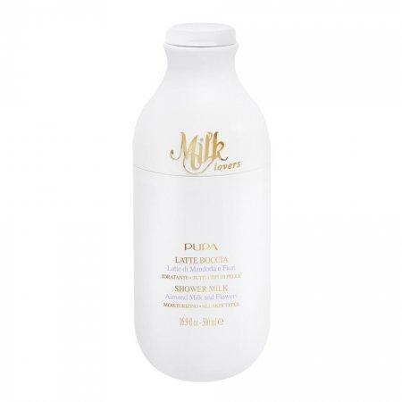 Pupa Milk Lovers, Almond Milk and Flowers, peelingujące mleczko pod prysznic, 250ml