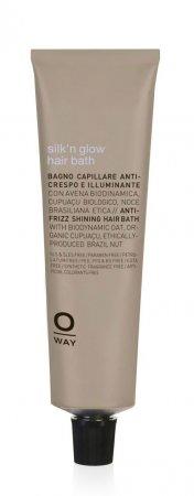 OWay Silk'n Glow, ujarzmiająca kąpiel do włosów grubych i puszystych, 50ml