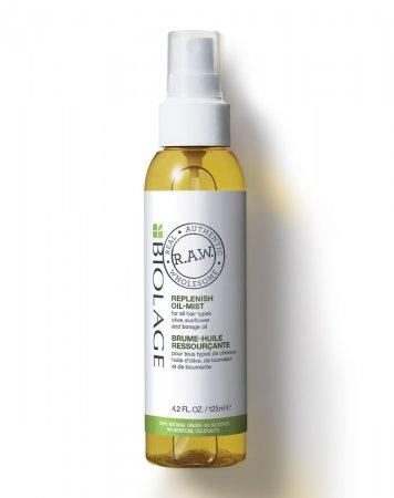Biolage RAW, olejek w mgiełce do wszystkich typów włosów, 125ml