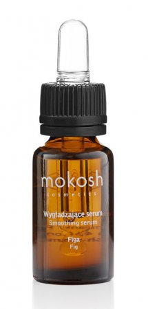Mokosh, wygładzające serum do twarzy, figa, 12ml